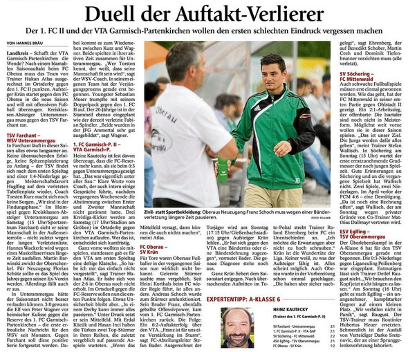 GaPa Tagblatt 11.08.2012