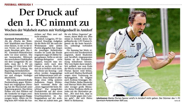 GaPa Tagblatt vom 04.05.2013
