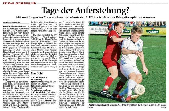 Ga Pa Tagblatt vom 19.04.2014
