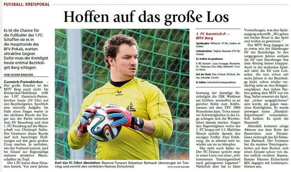 Ga-Pa Tagblatt vom 19.08.2015