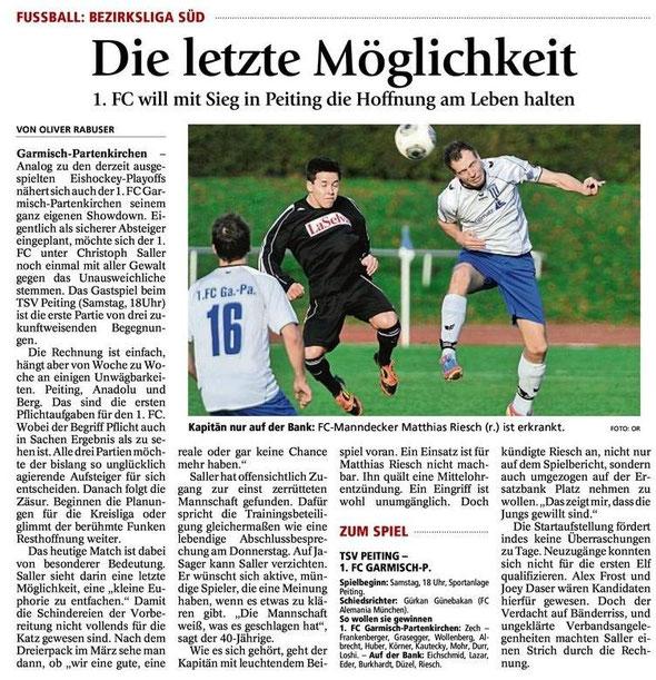 Ga Pa Tagblatt vom 15.03.2014