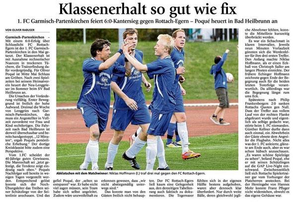 GaPa Tagblatt vom 02.05.2012