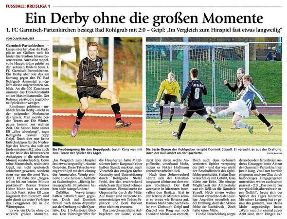 Ga Pa Tagblatt vom 19.11.2012