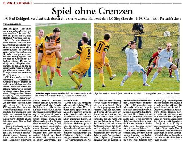Ga-Pa Tagblatt vom 29.03.2016