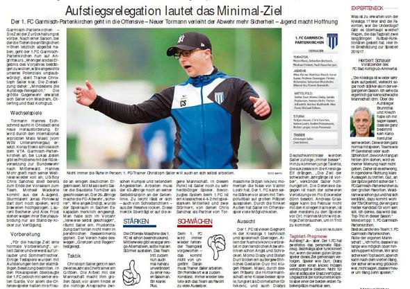 Garmischer Tagblatt vom 06.08.2016