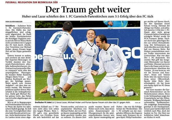Ga Pa Tagblatt vom 31.05.2013