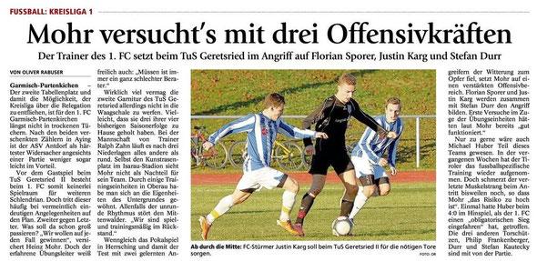 GaPa Tagblatt vom 06.04.2013