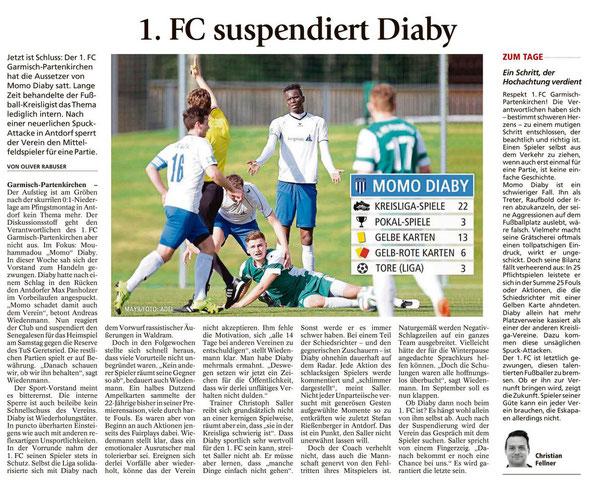 Ga-Pa Tagblatt vom 20.05.2016