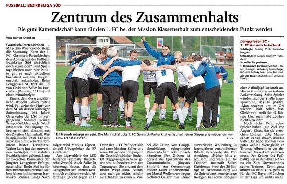Ga Pa Tagblatt vom 26.04.2014