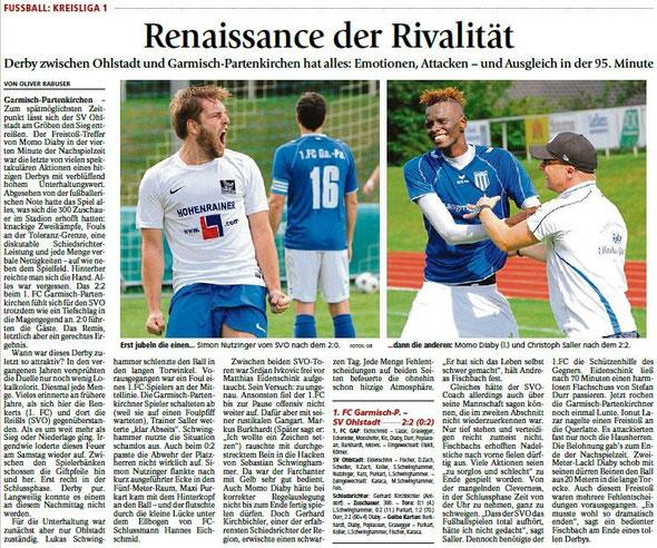 Ga-Pa Tagblatt vom 10.08.2015