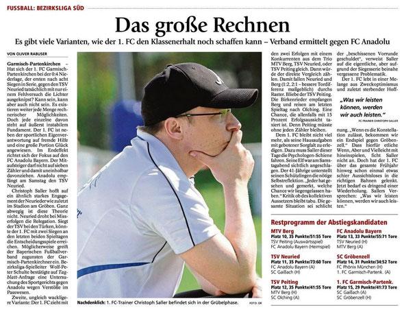 Garmischer Tagblatt vom 13.05.2014