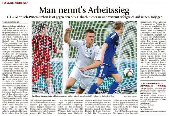 Ga-Pa Tagblatt vom 02.05.2016