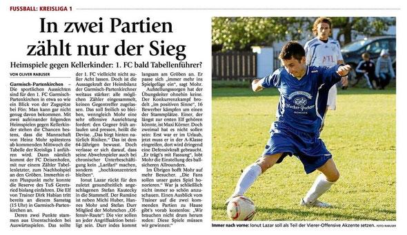GaPa Tagblatt vom 08.09.2012