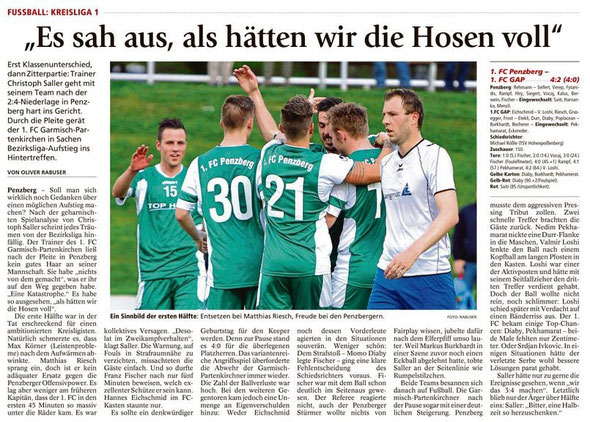Ga-Pa Tagblatt vom 18.04.2016