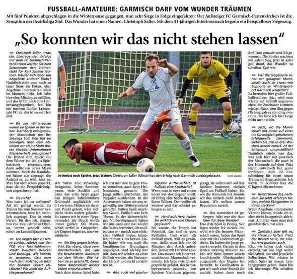 Münchner Merkur vom 07.05.2014
