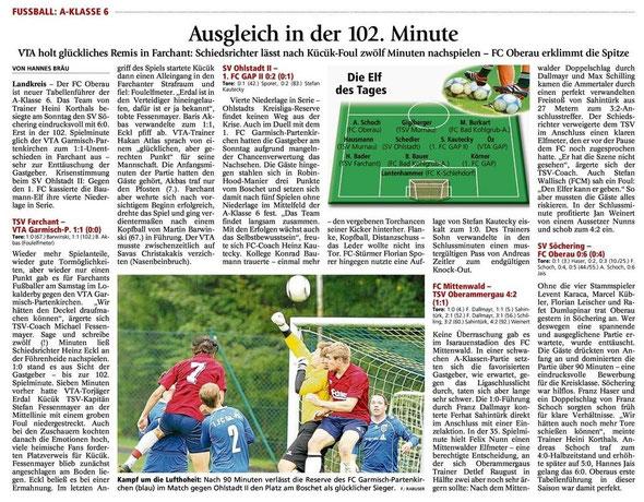 GaPa Tagblatt 01.10.2012