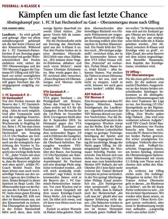 GaPa Tagblatt vom 19.05.2012