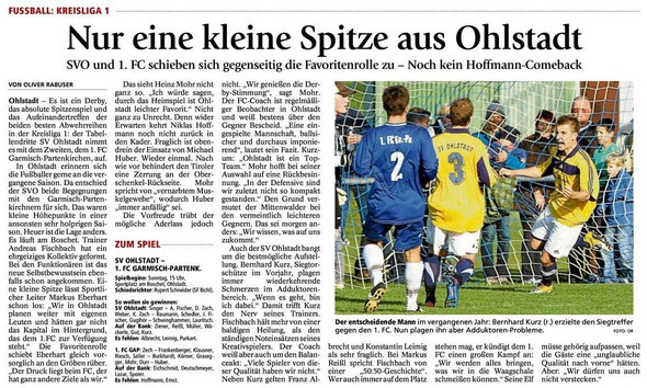 GaPa Tagblatt 29.09.2012