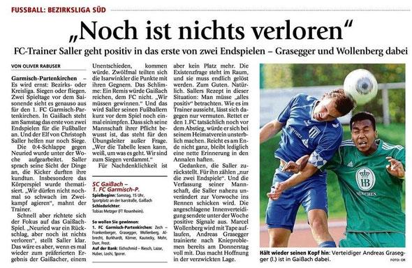 Ga Pa Tagblatt vom 17.05.2014