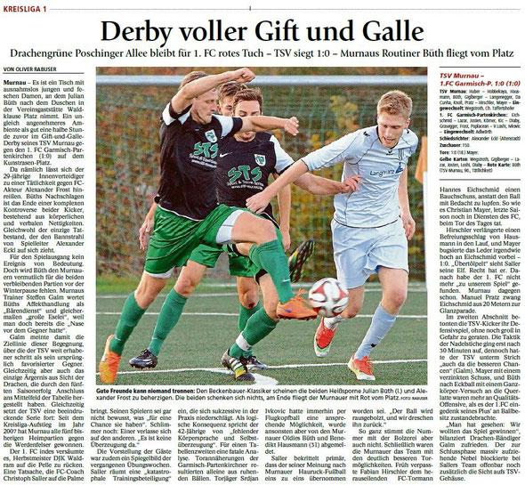 Ga-Pa Tagblatt vom 02.11.2015