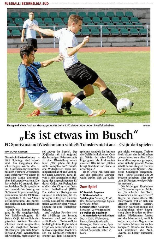 Ga Pa Tagblatt vom 17.08.2013