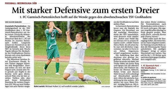 Ga Pa Tagblatt vom 07.09.2013