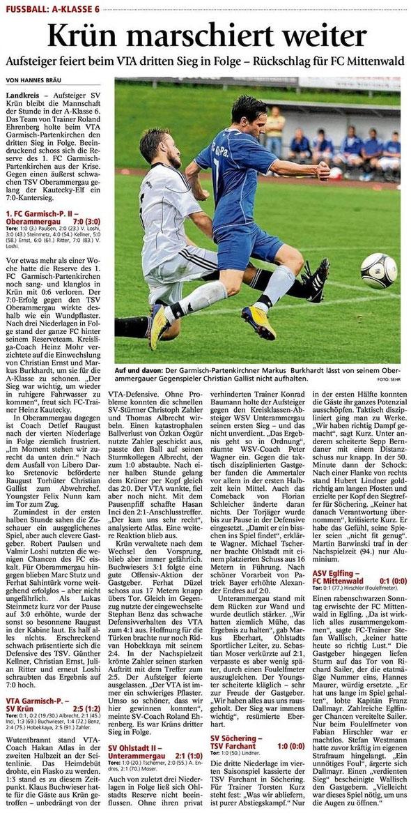 Ga Pa Tagblatt vom 27.08.2012