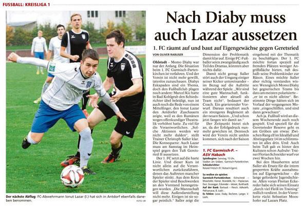 Ga-Pa Tagblatt vom 21.05.2016