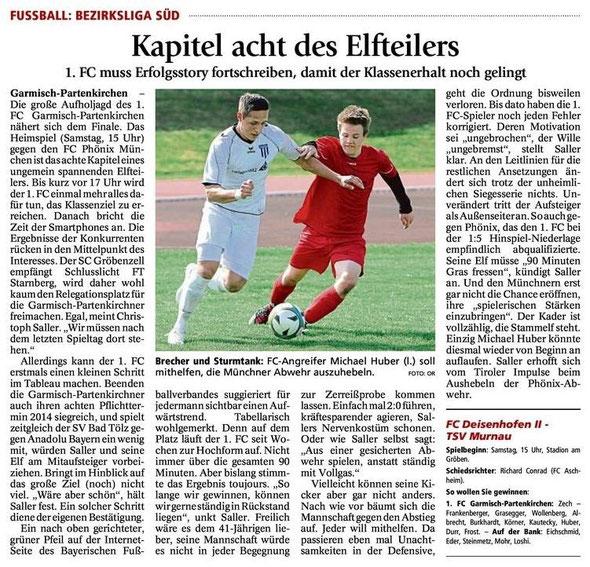 Ga Pa Tagblatt vom 03.05.2014