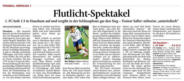 Ga-Pa Tagblatt vom 09.04.2016