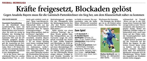 Ga Pa Tagblatt vom 22.03.2014