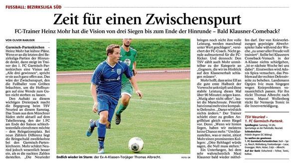 Ga Pa Tagblatt vom 05.10.2013