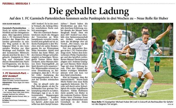 GaPa Tagblatt vom 24.10.2012