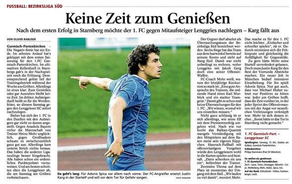 Ga Pa Tagblatt vom 21.09.2013