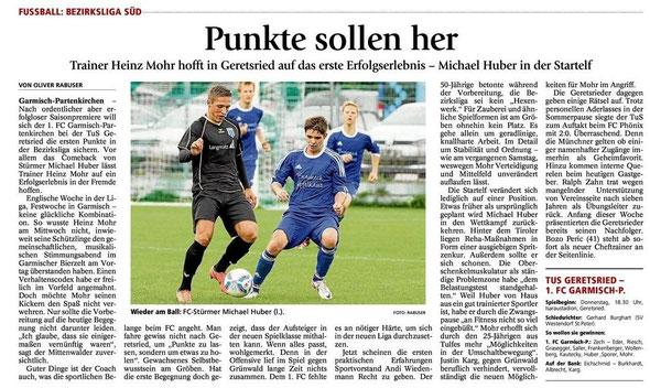 Ga Pa Tagblatt vom 27.07.2013