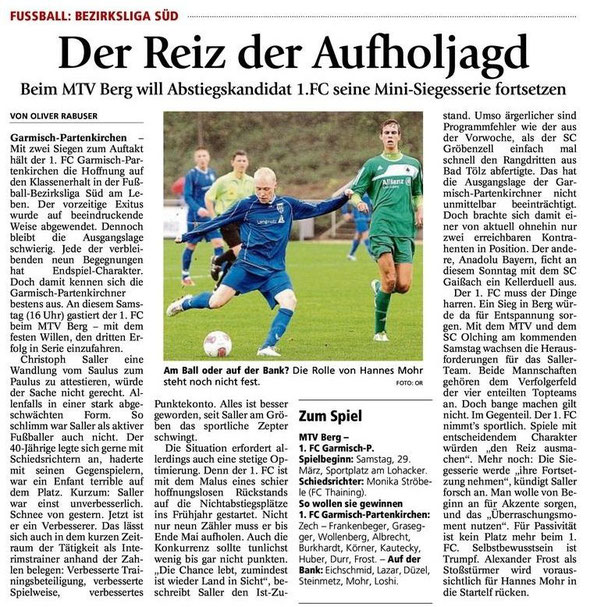 Ga Pa Tagblatt vom 29.03.2014