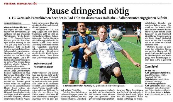 Ga Pa Tagblatt vom 16.11.2013