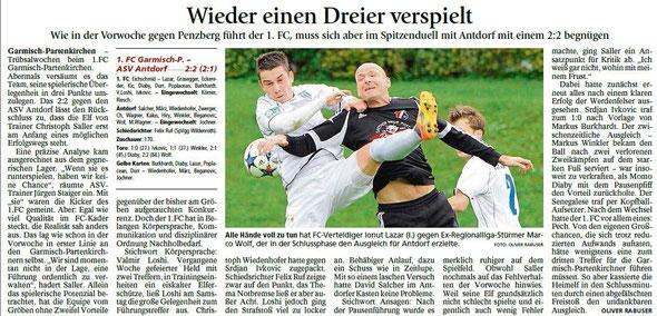 Ga-Pa Tagblatt vom 07.09.2015