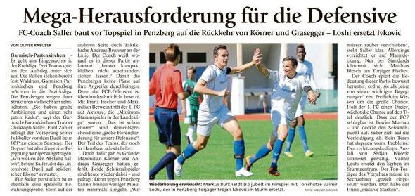 Ga-Pa Tagblatt vom 16.04.2016