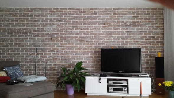 Loftstyle im Wohnzimmer