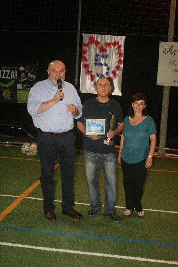 Il Sindaco  Simoncini, Sauro Vaccarini e signora, Rita  Trillini