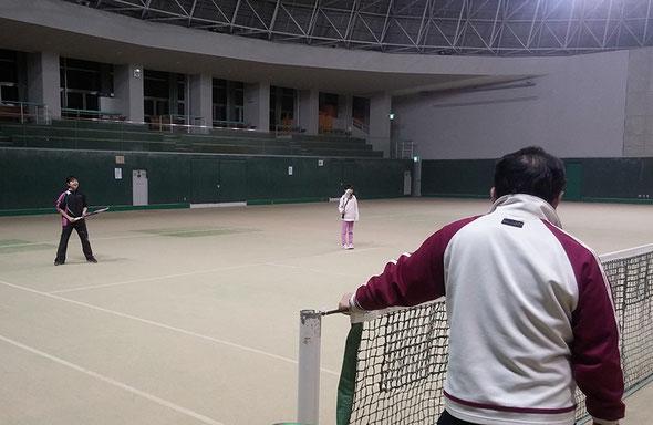ソフトテニス教室