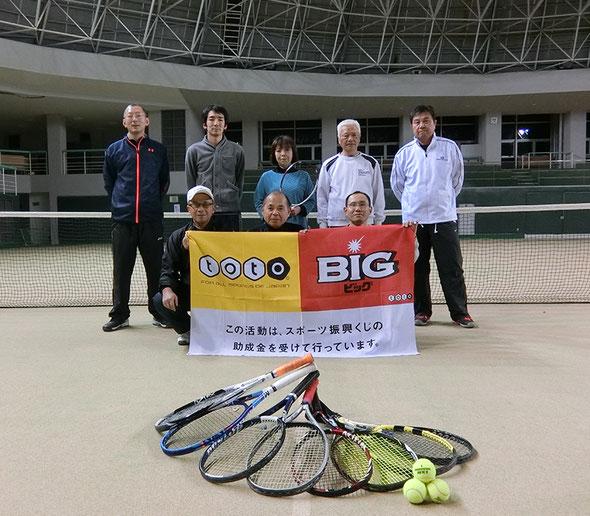 硬式テニス教室