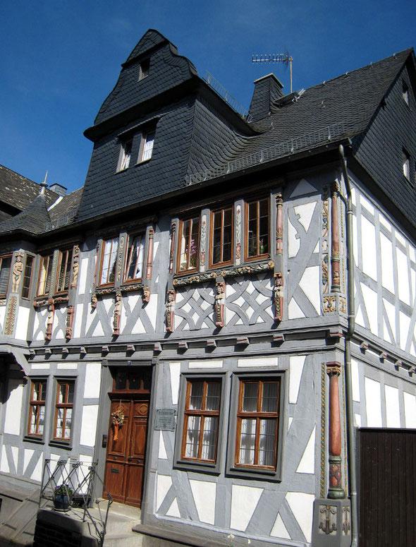 Das Haus Tuchscherer in Hadamar (Quelle: www.hadamar.de)