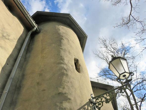 Historisches Rätselfoto № 2: Dieses Mal ist es ein Gebäude mit einer ganz besonderen Ausstrahlung - Viel Freude beim Mitraten! – Foto: ©Matthias Knaust