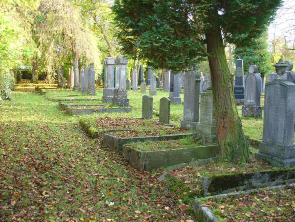 Der jüdische Friedhof in Weilburg ©Joachim Warlies