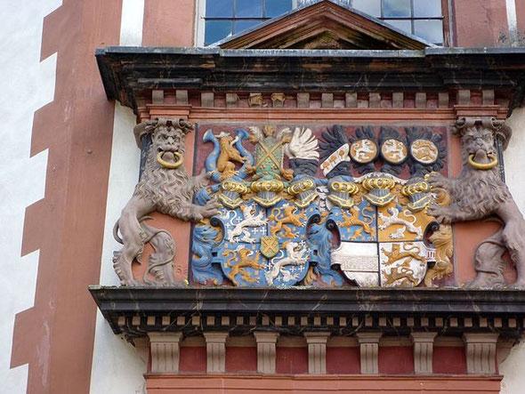 Wappen in der Stadt Weilburg