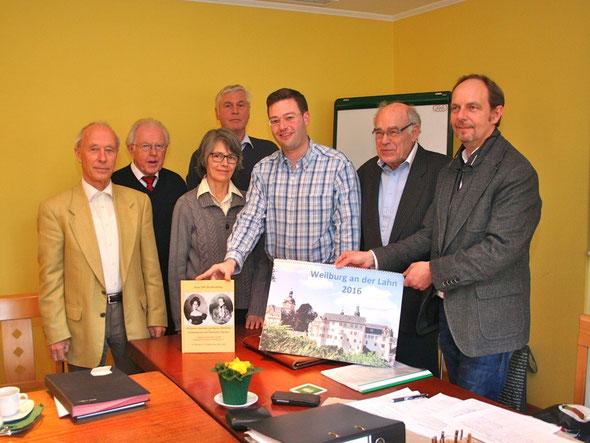 Jahreshauptversammlung Geschichtsverein Weilburg, Foto: Horz