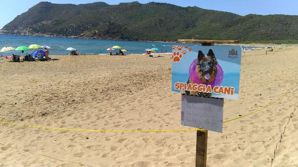 Spiaggia per cani Alghero Spiaggia di Porto Ferro (Comune di Sassari)