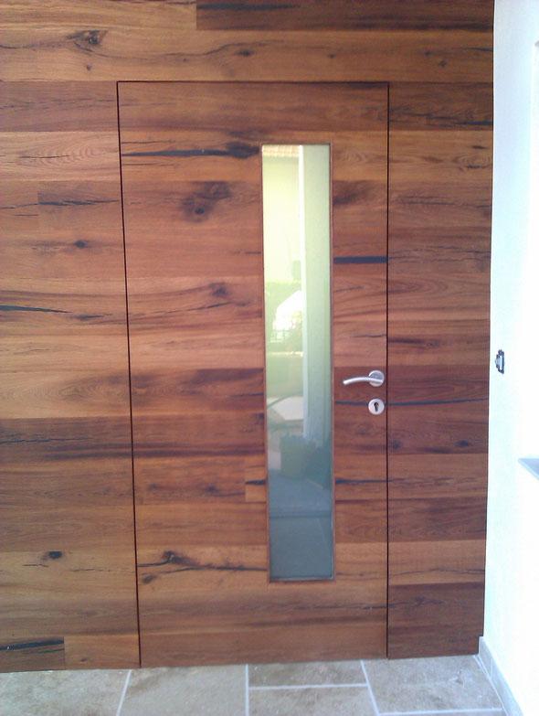 Eiche rustikal Flächenbündig Holz - Design Mafi